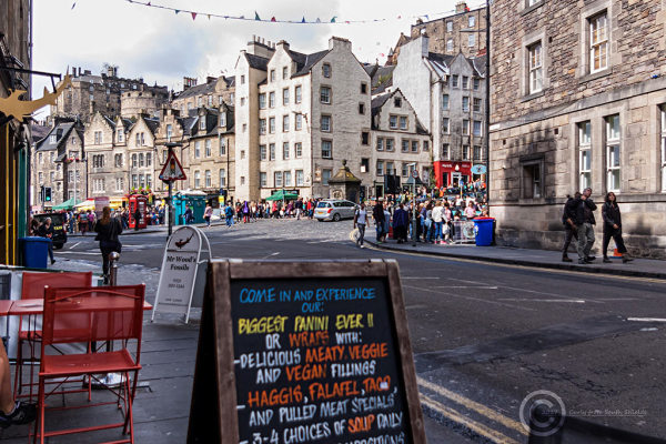 Junction of Cowgate and Grassmarket, Edinburgh