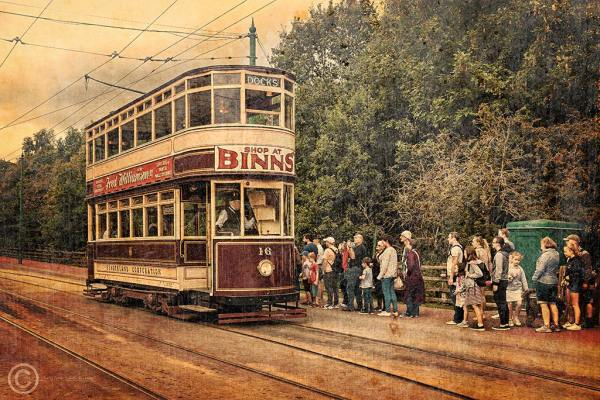Tram, Beamish North of England Open Air Museum