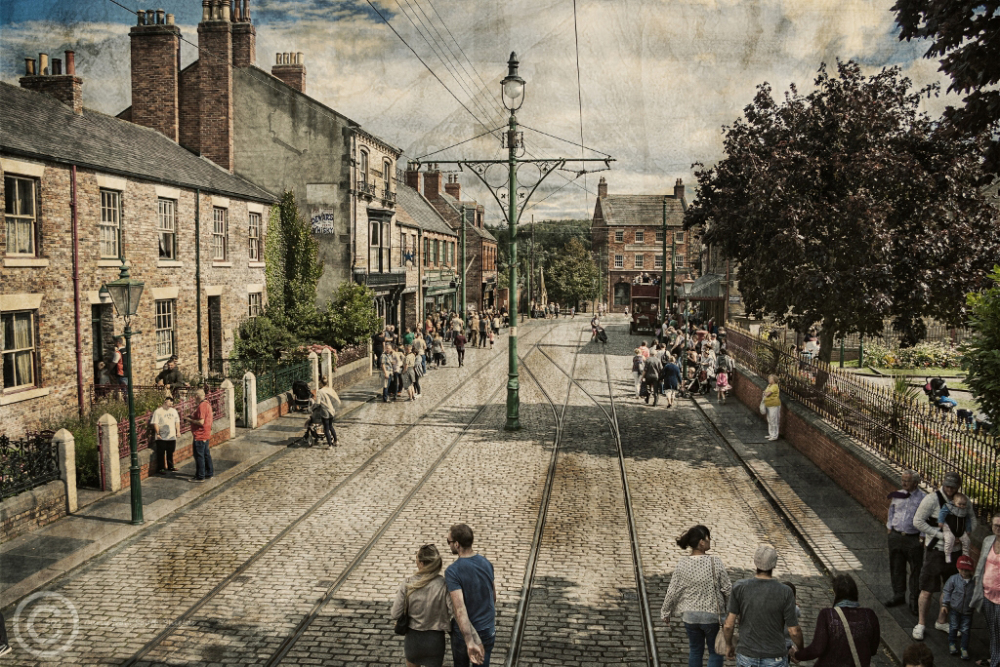 Town Square, Beamish Museum