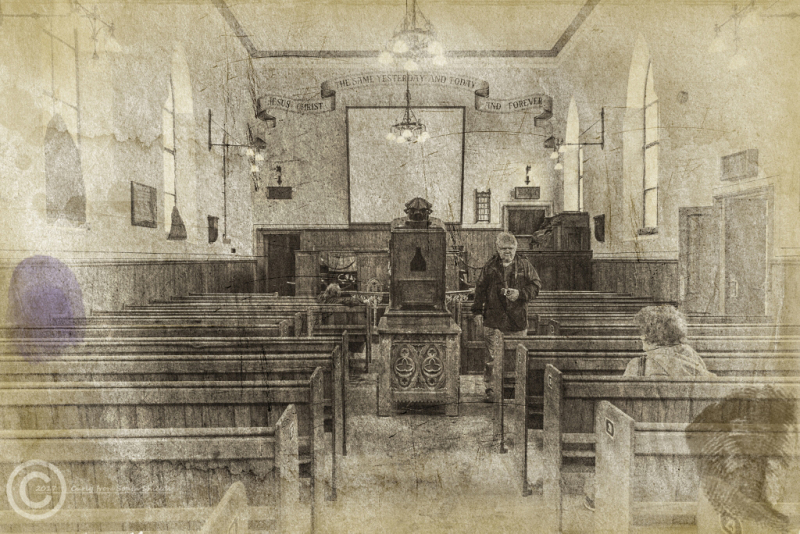 Beamish Museum methodist chapel