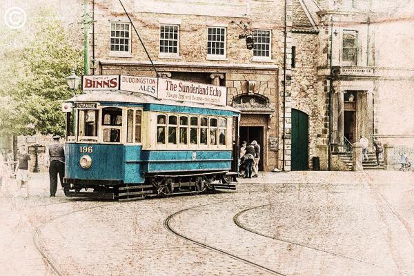 196 tram, Beamish Museum