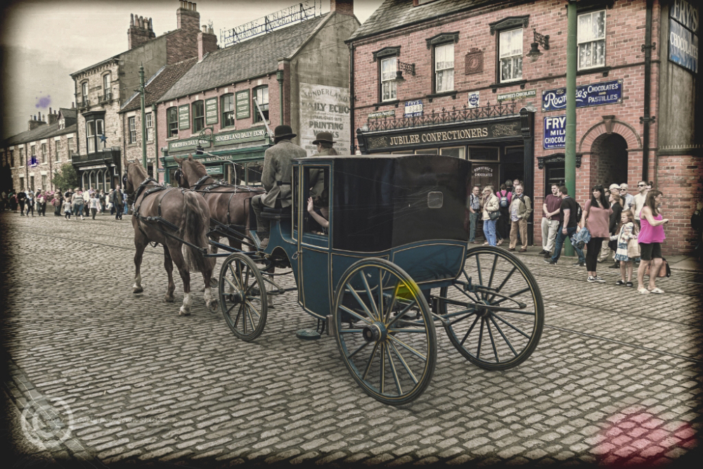 Handsome cab at Beamish Museum