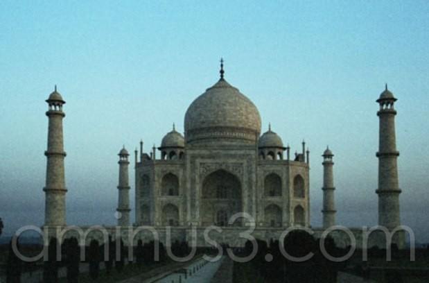 Taj before the sunset