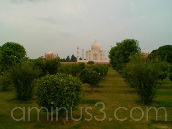 Taj View to Mehtab Bagh