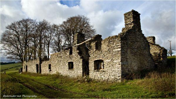 Old Stone Farm House (Colour)