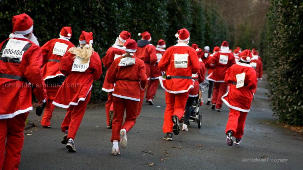 Santa Dash Chester 2012