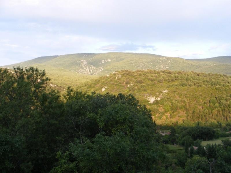 paysage prés de lagorce