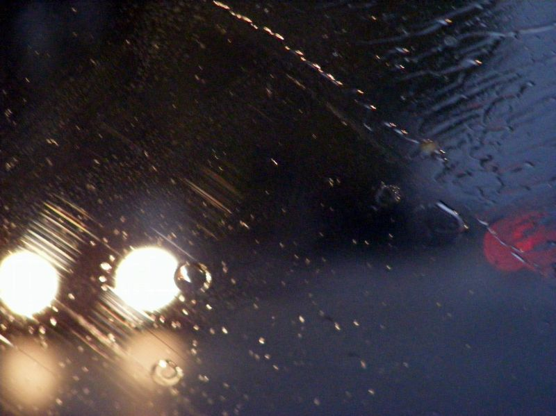 pluie et phares