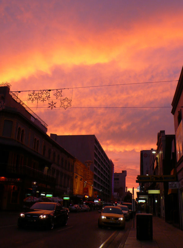 Last Sunset in Adelaide