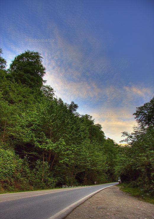 جاده زیارت- گرگان