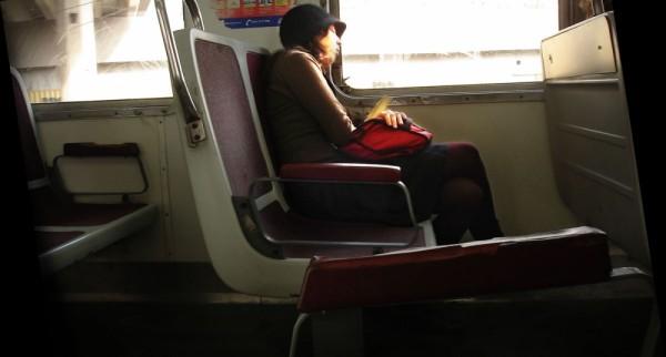 lasilvi silvialew street train girl sleep