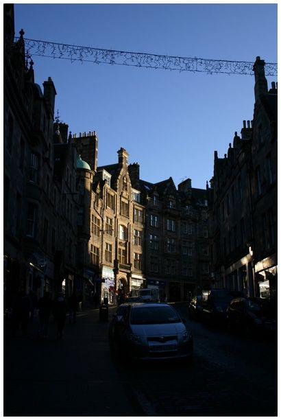 light in Edinburgh
