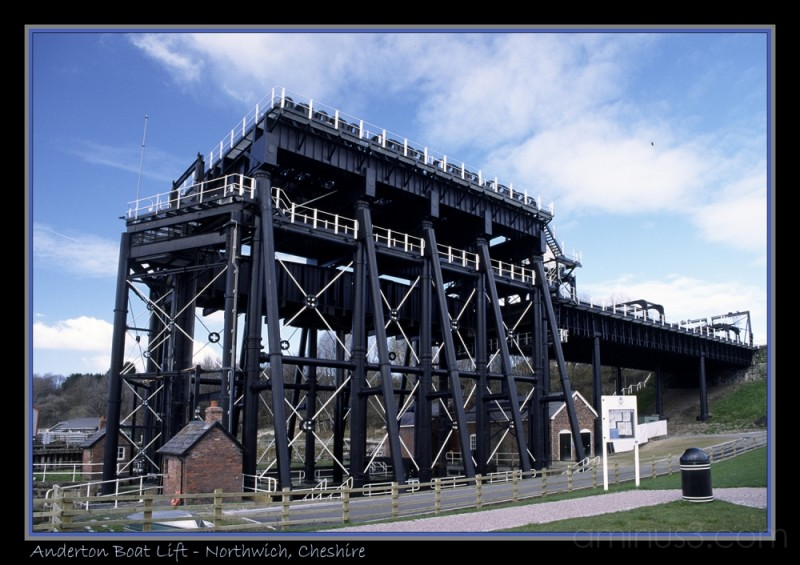 Anderton Boat Lift - Northwich, Cheshire