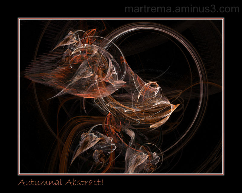 Autumnal abstract