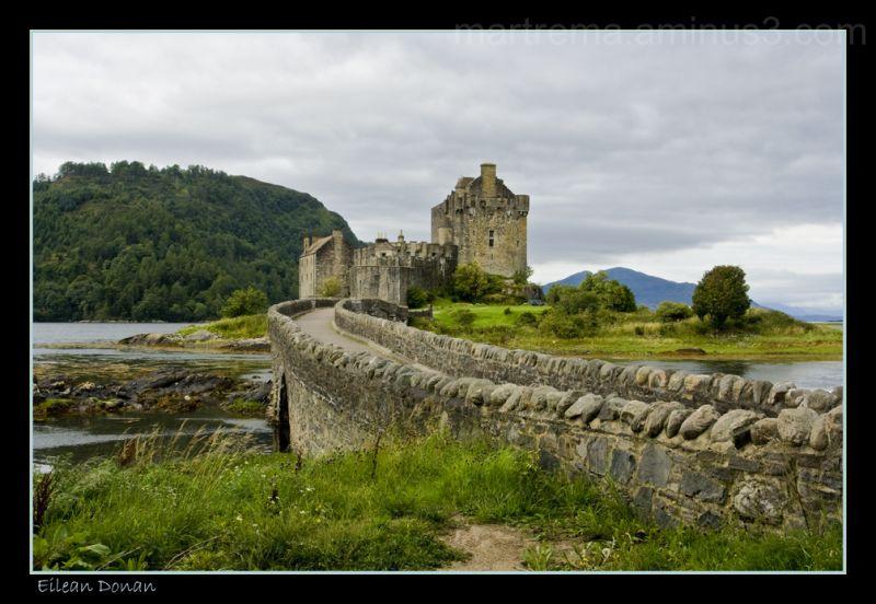 Eilean Donan Castle.