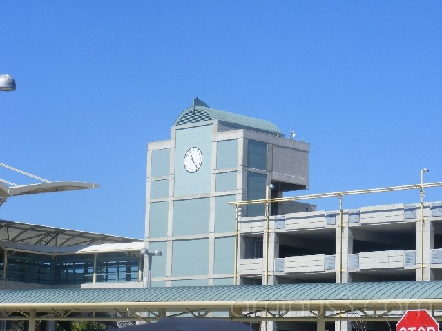 BART station in Millbrae, CA