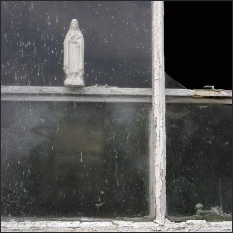 virgin in the window