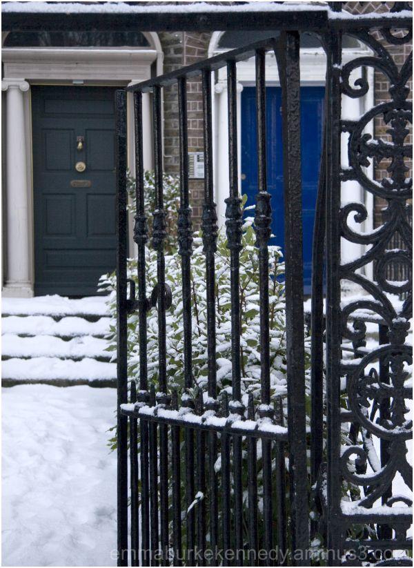 Georgian Dublin in the snow
