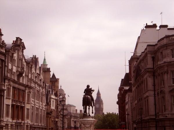 trafalgar square big ben london