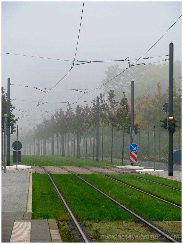 Tramlines to a misty future?