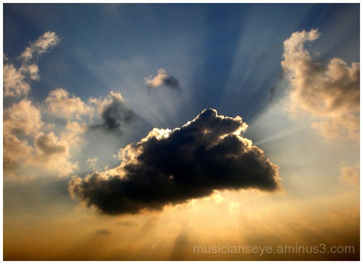 A Cloudy Eclipse