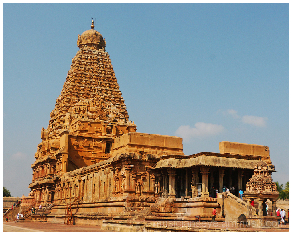 The thanjavur big temple