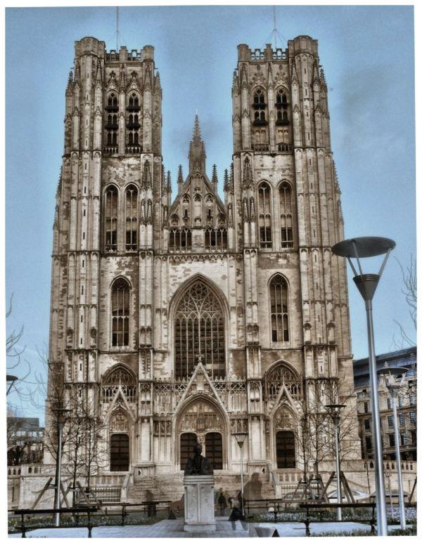Cathédrale Sainte Gudule Brussels