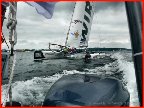 WIRSOL'S Catamaran in Kiel