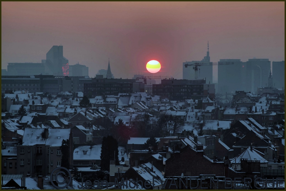 Cold sunset, home...