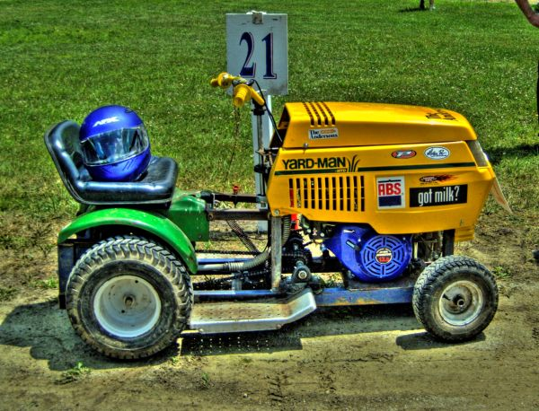 The Milkman Lawnmower Racer