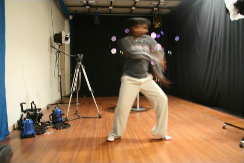 neeraj dance at SMIL studio