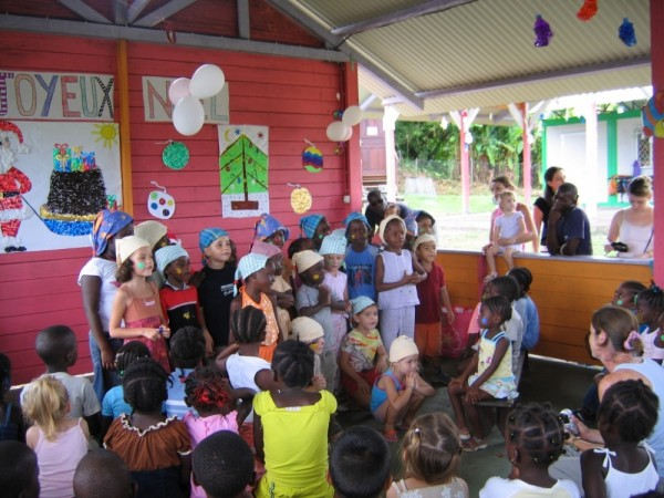 christmas time in french guiana