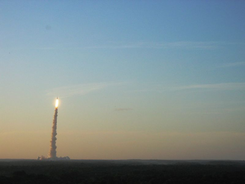 3, 2, 1, ignition ...  great launch Ariane 5
