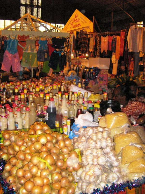 Cayenne's covered market