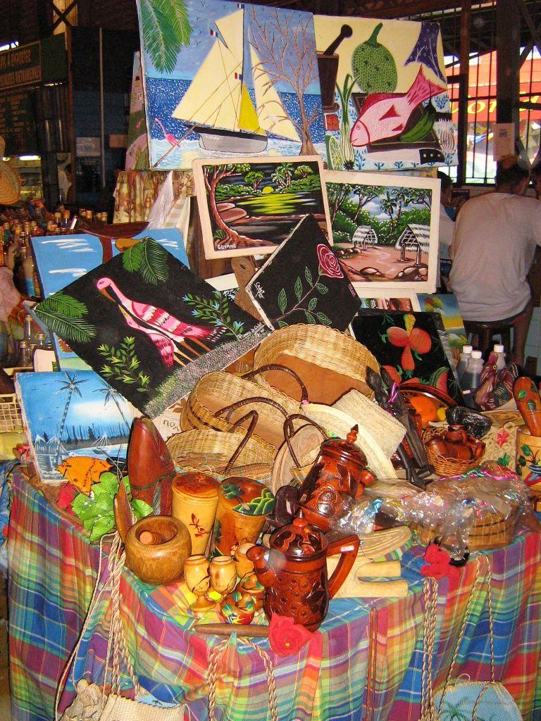 various arts of french guiana