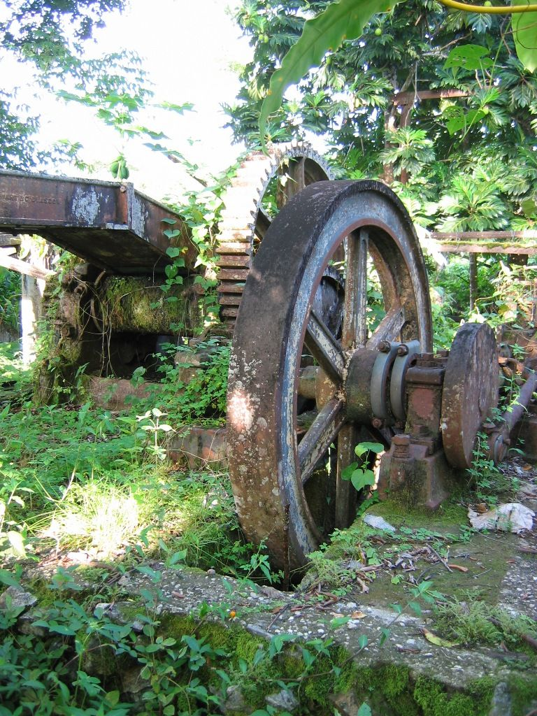 ruins of a rum ditillery