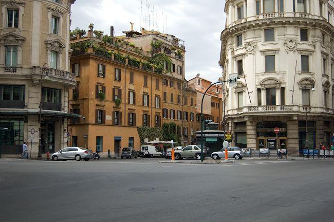 Rome. Via del Tritone