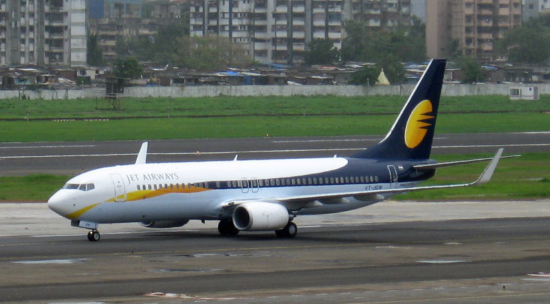 jet airways aircraft