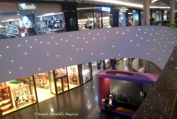 The Sihlcity mall