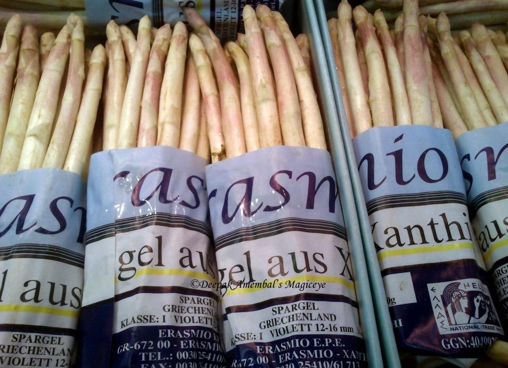 Asparagus on sale