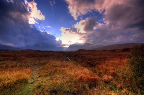 Rannoch Moor at Glen Coe