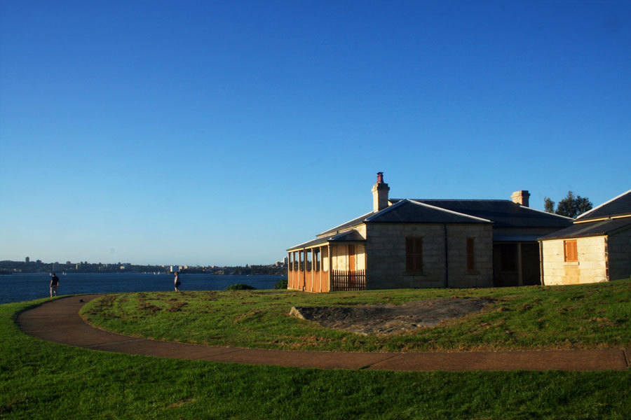 Light house cottage at Watsons Bay