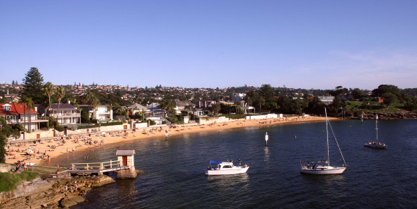the beach at Watsons Bay