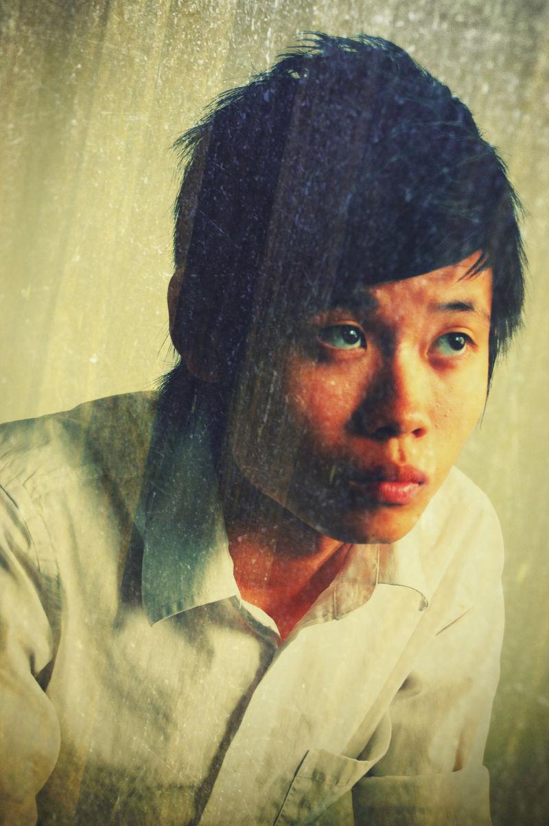 wei xiong vintage portrait