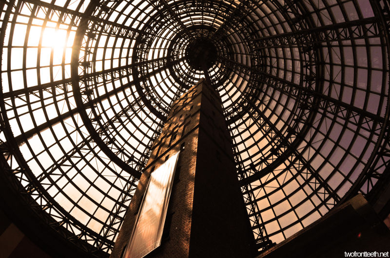 melbourne central shot tower