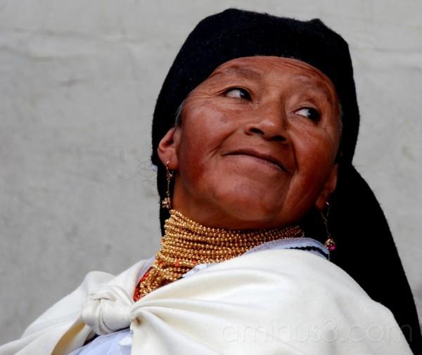 Otavalo woman
