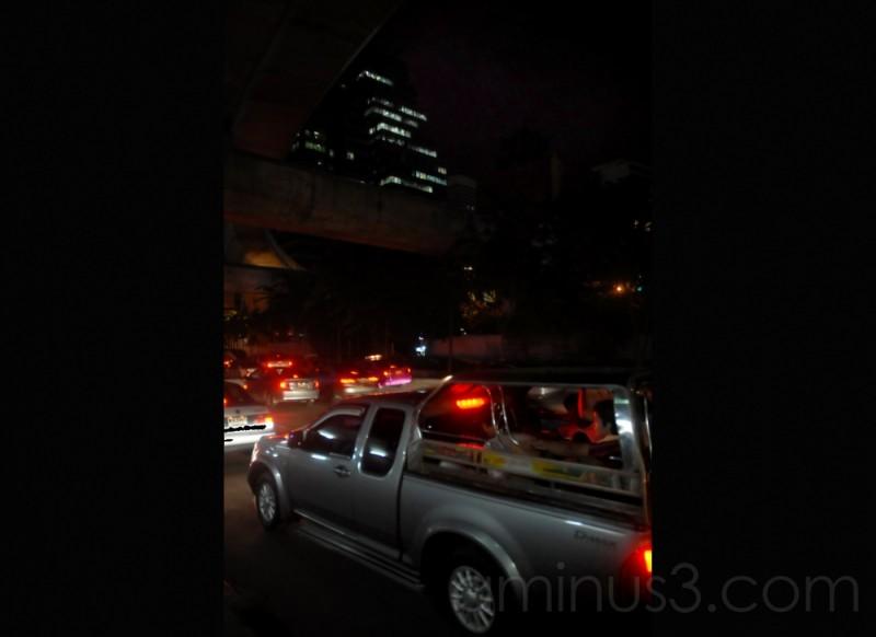 Noche de Bangkok (Tailandia)