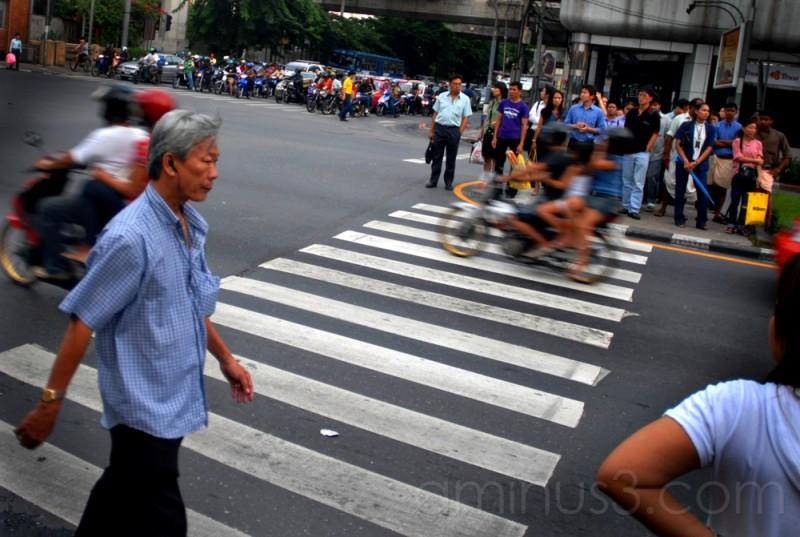 Calle Siam de Bangkok (Tailandia)