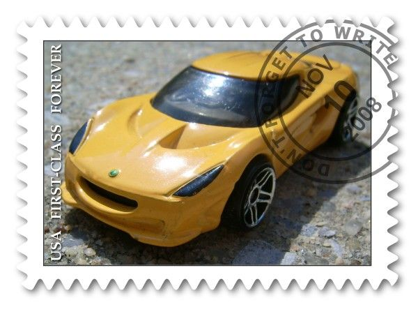 Framer (Stamp: Yellow Sports Car)