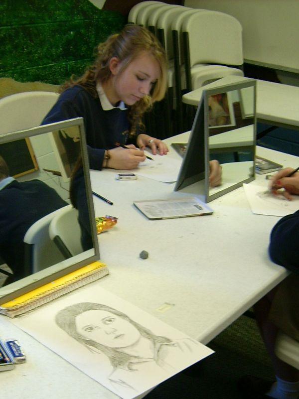 Drawing Self-Portraits